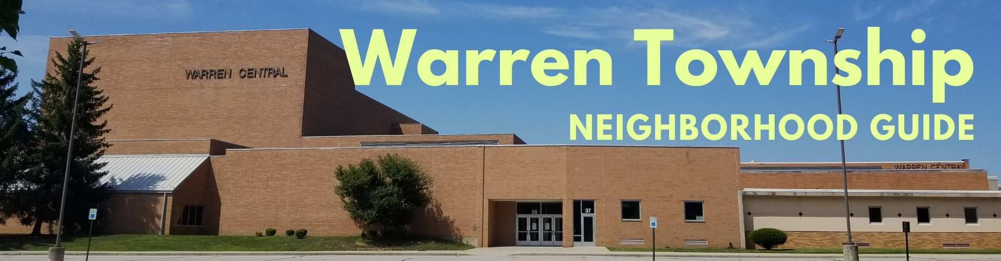 Warren Township is known for Warren Central Highschool, located on the city's East side.