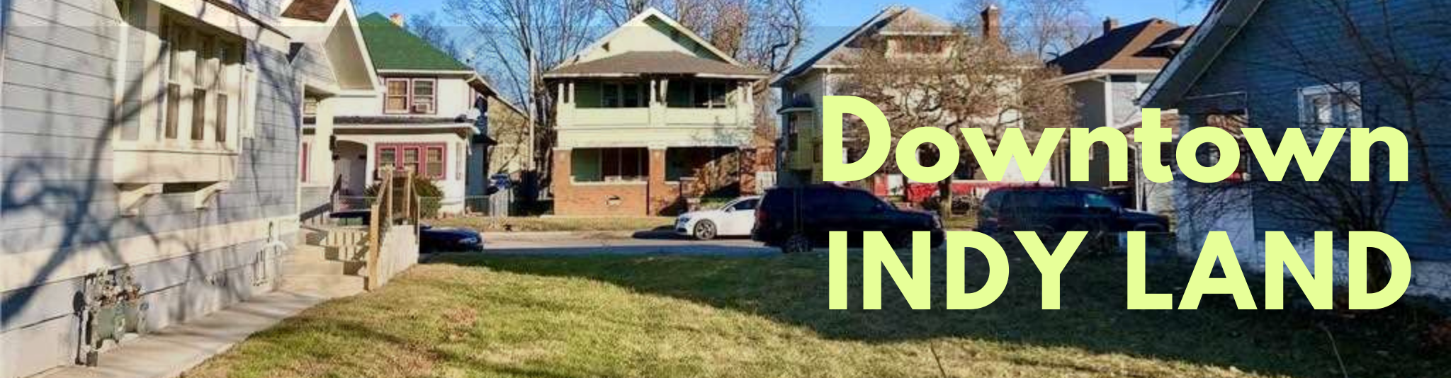 Downtown Indianapolis Land for Sale