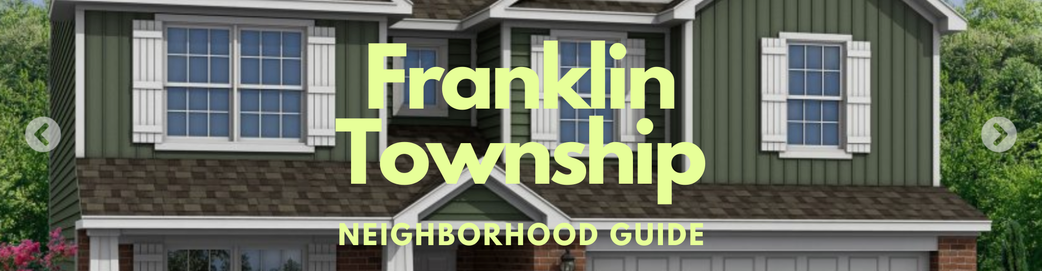 Franklin Township Marion County Indianapolis Indiana Real Estate Neighborhood guide