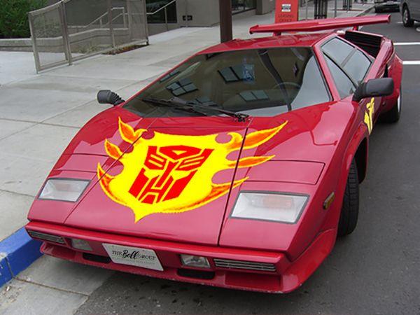 my new company car