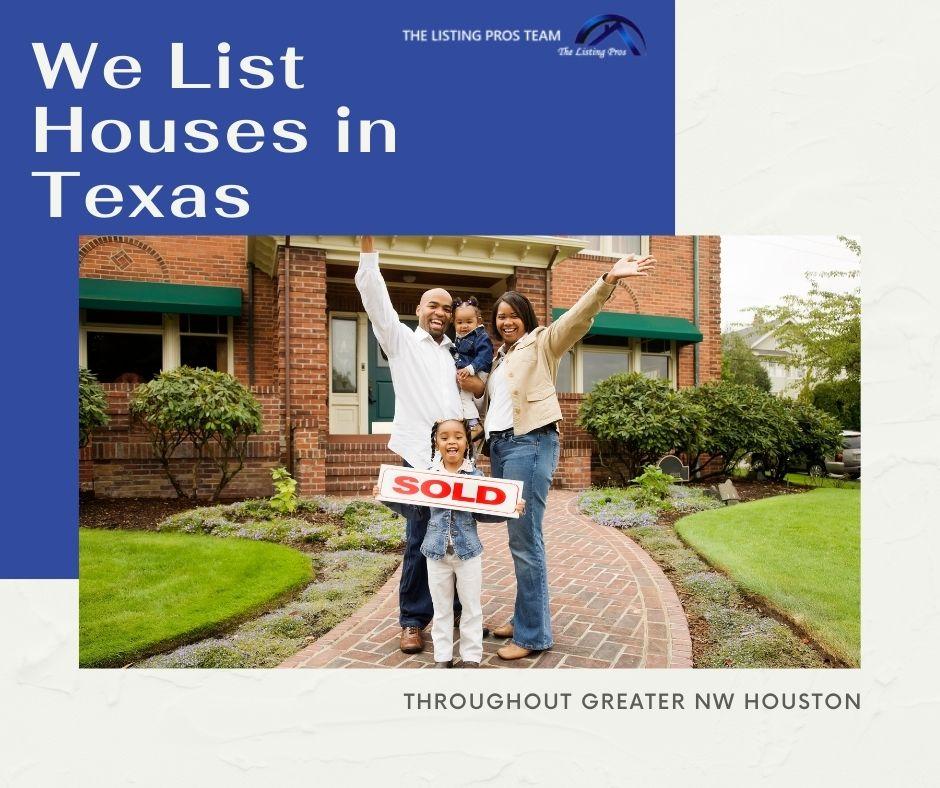 We list houses in Texas