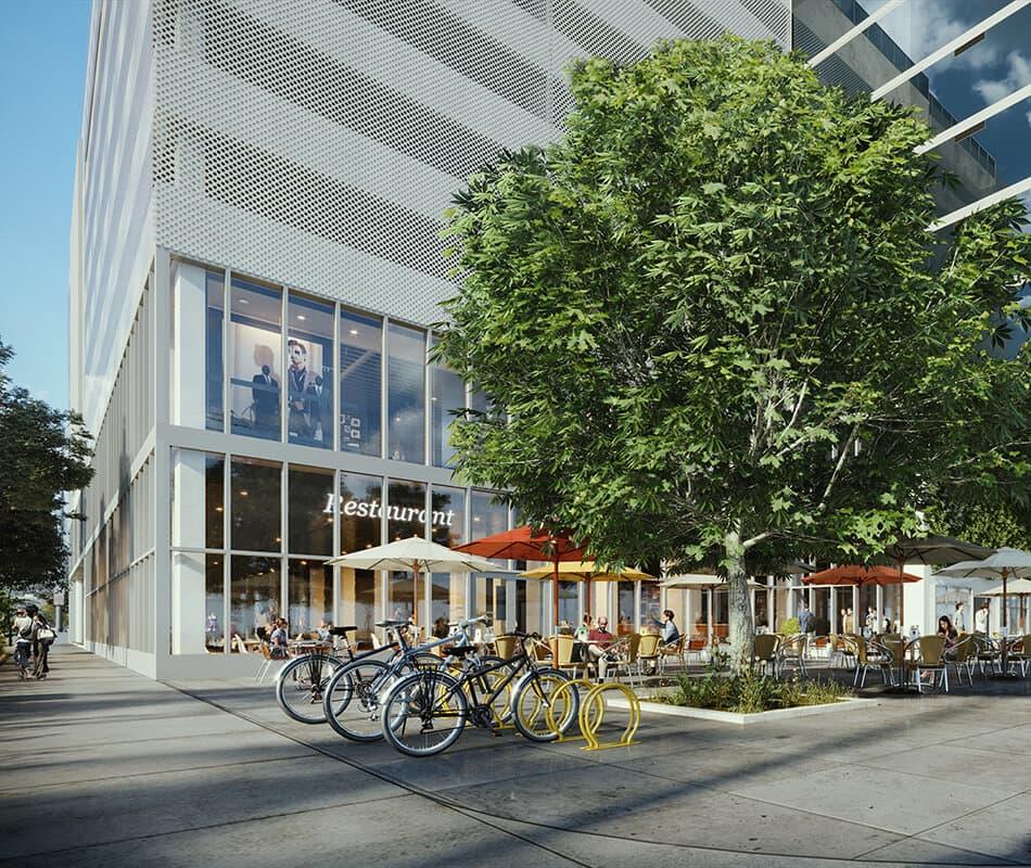 Azure Ala Moana Courtyard & Bikes