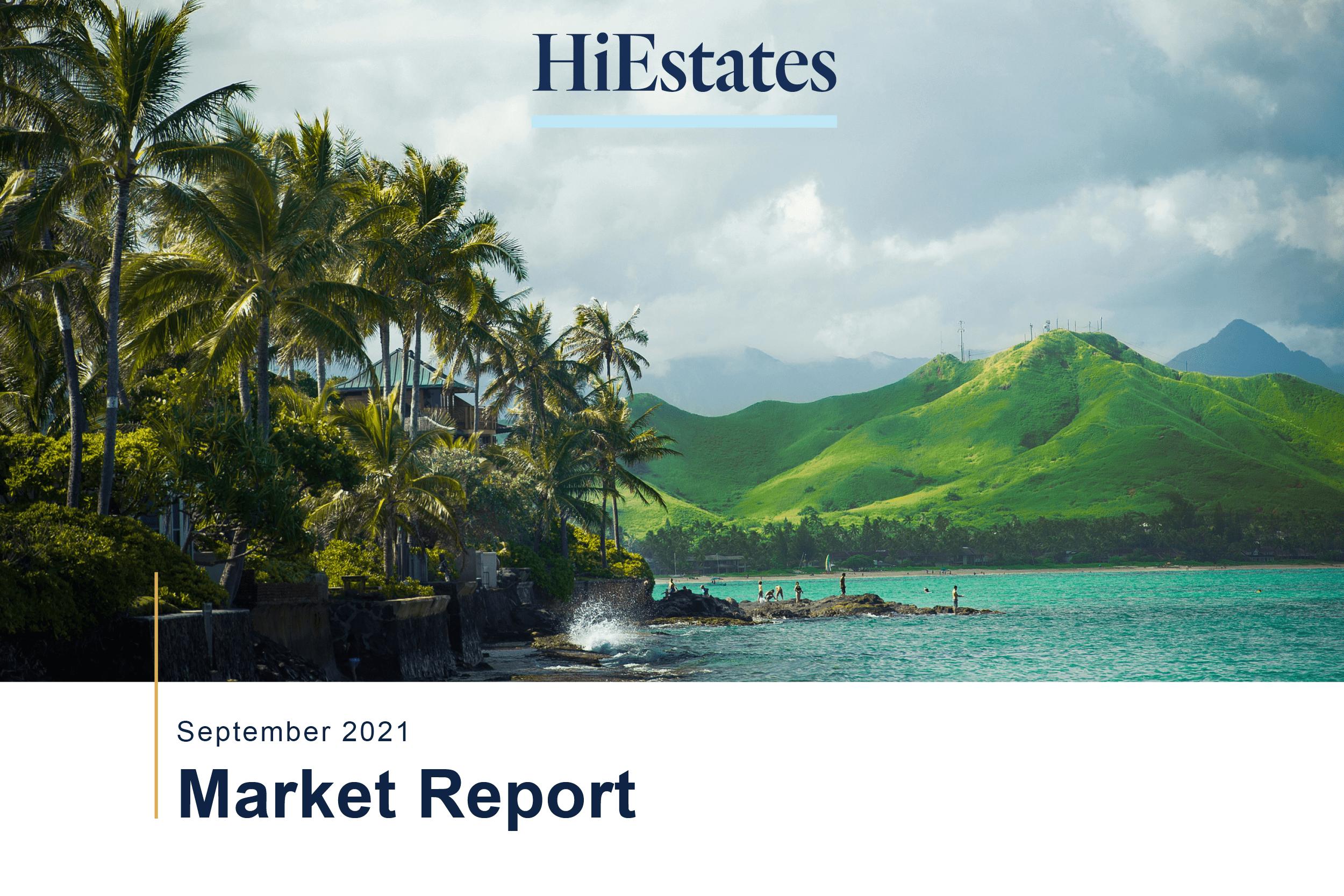 Oahu Hawaii Real Estate Market Stats September