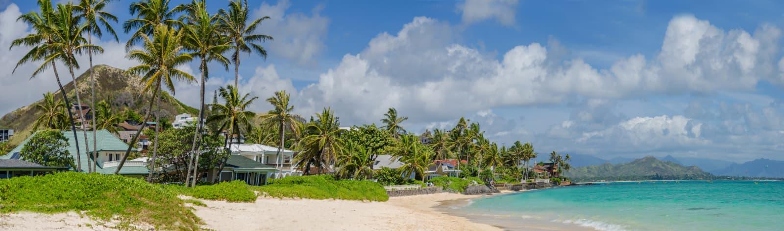 Beach in Lanikai Kailua
