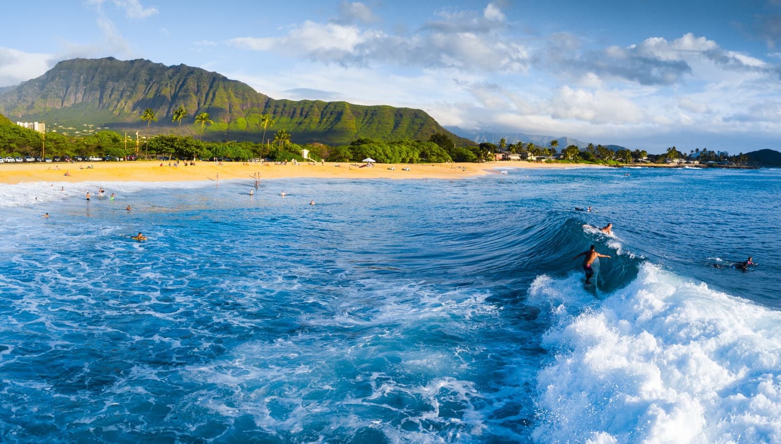 Makaha Ocean Shot