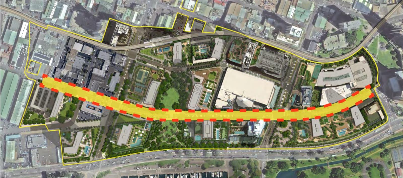 Auahi Street Redevelopment Plans