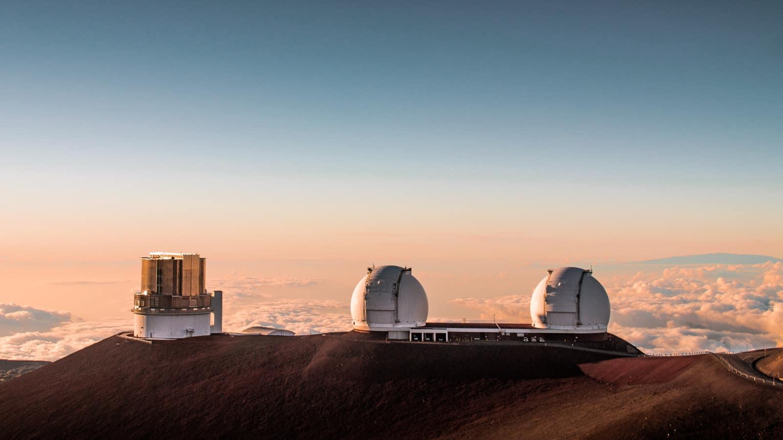 Big Island Mauna Kea Observatories