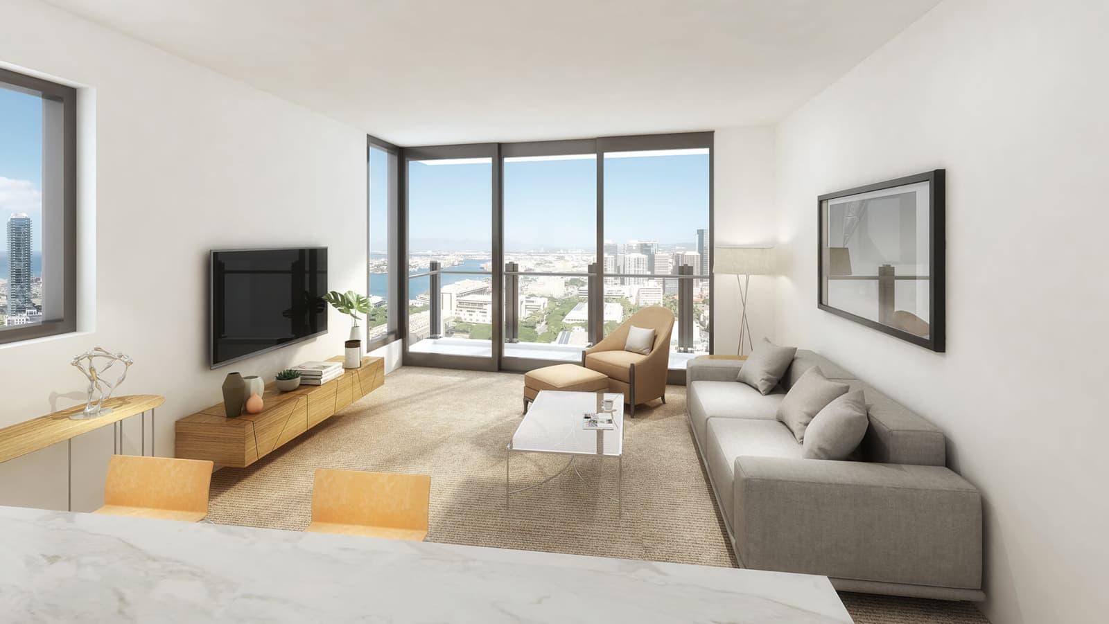 Ililani Living Room Mockup
