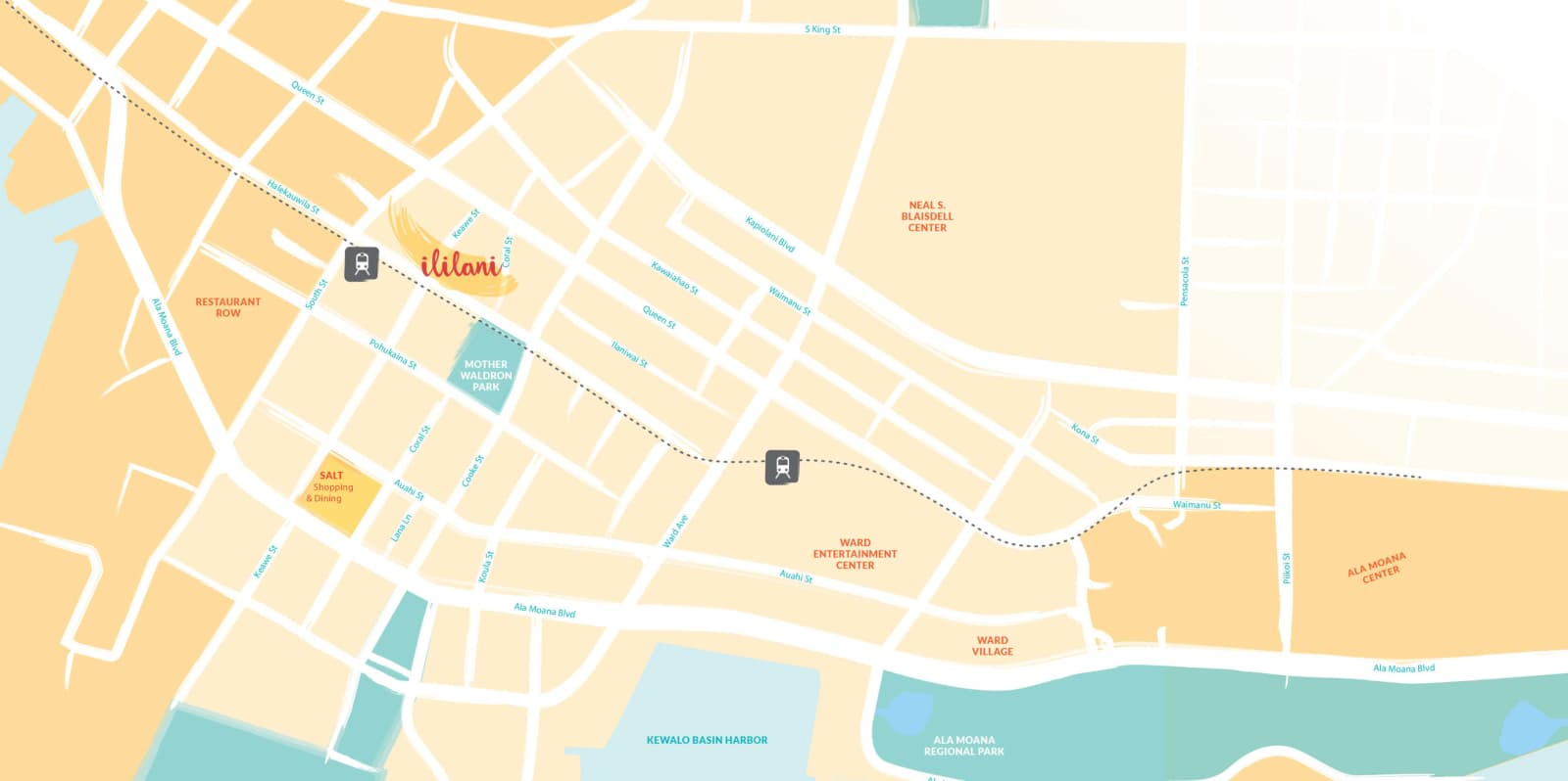 Map showing Ililani Project Location