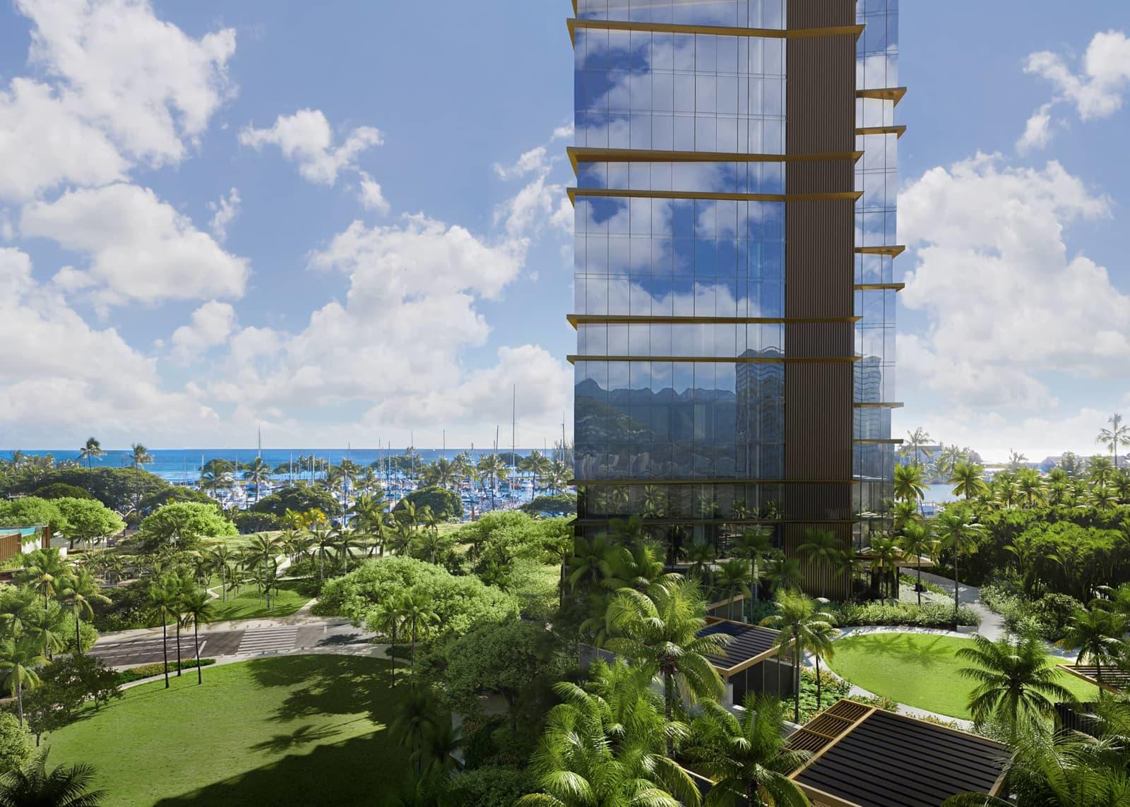 The Park Tower & Cabanas