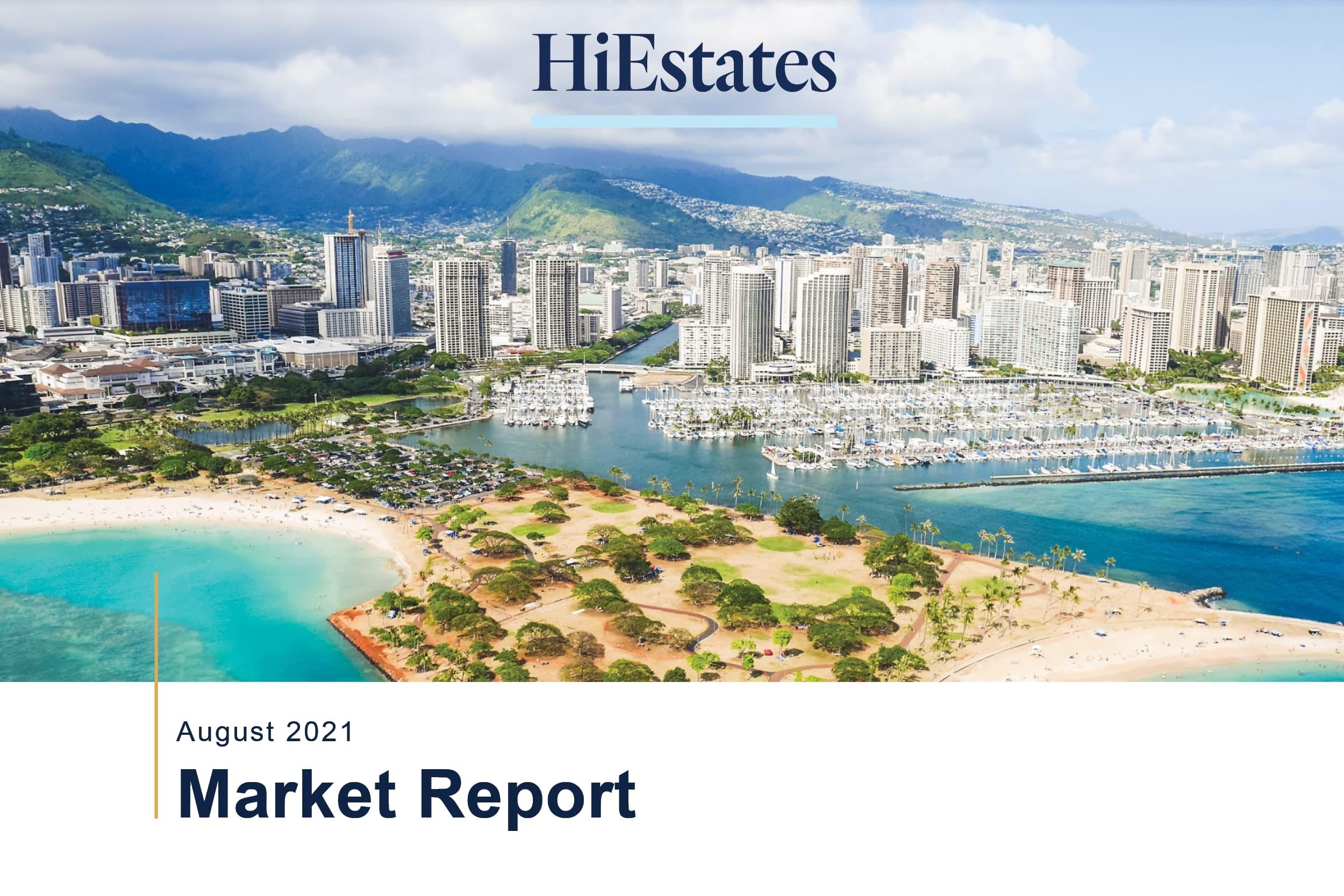 Oahu Real Estate Market Stats August 2021