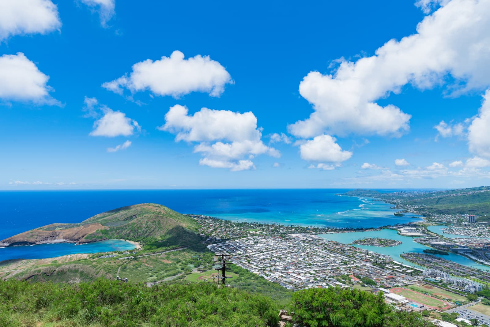 Hawaii Kai from above