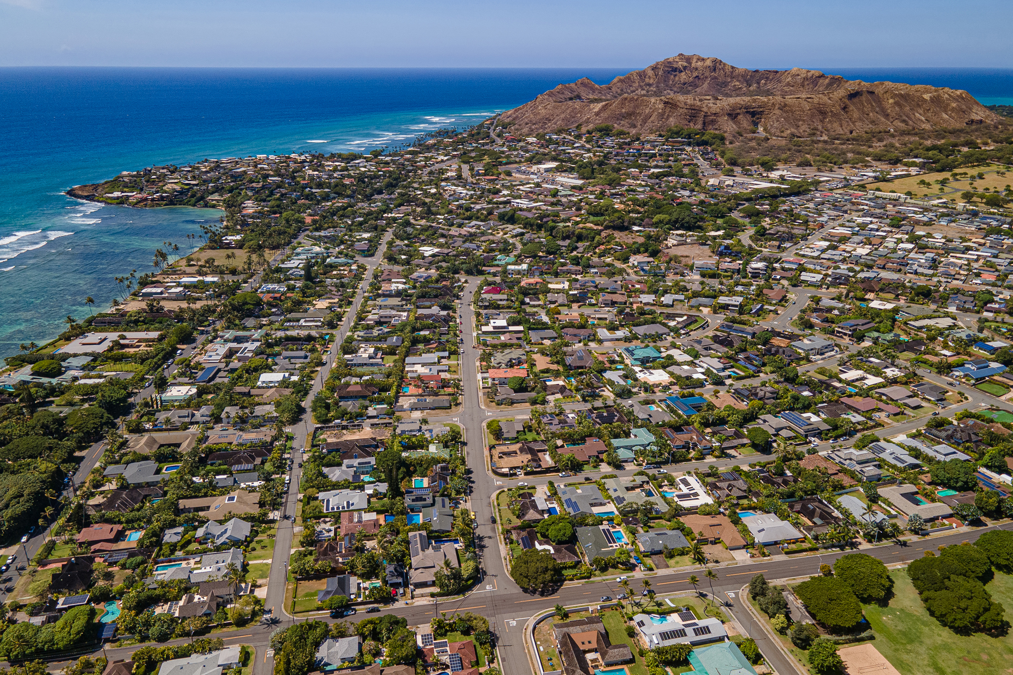 Kahala from above