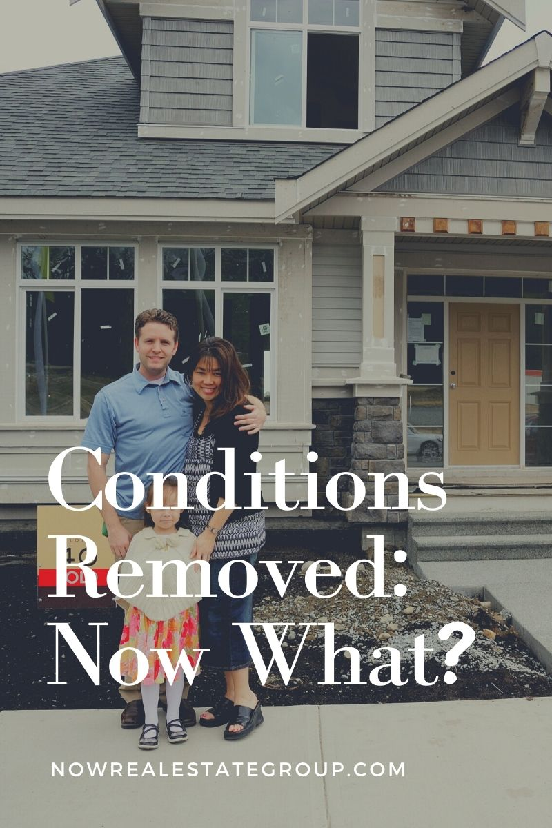 Conditions Removed: Now What?