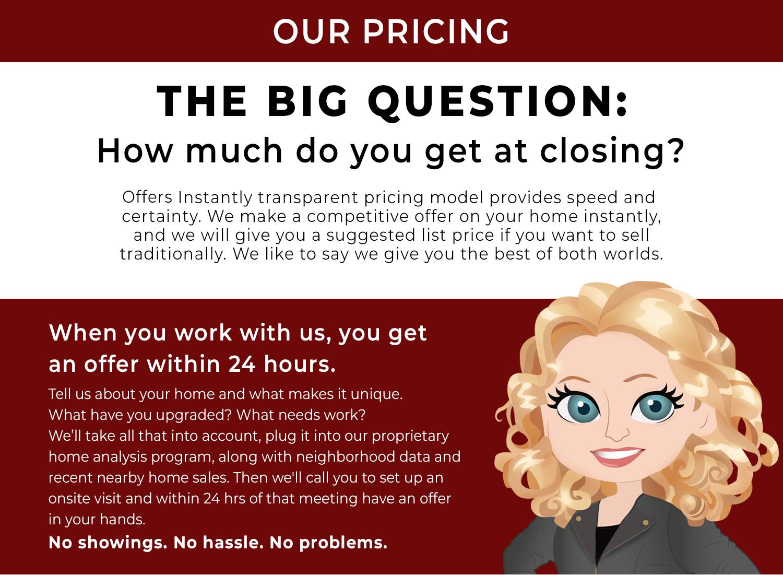 transparent pricing model