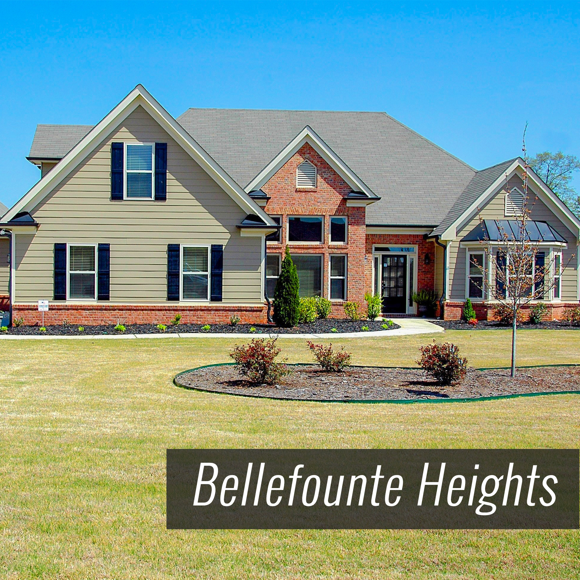 Homes for Sale in Bellefounte Heights Subdivision