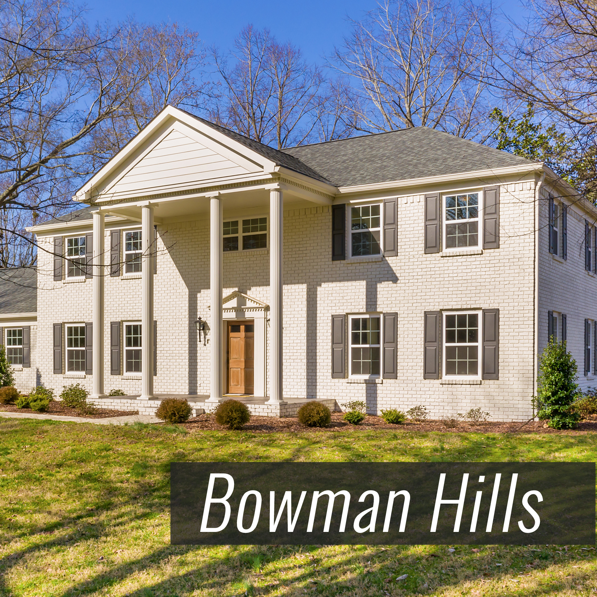 Homes for Sale in Bowman Hills Subdivision