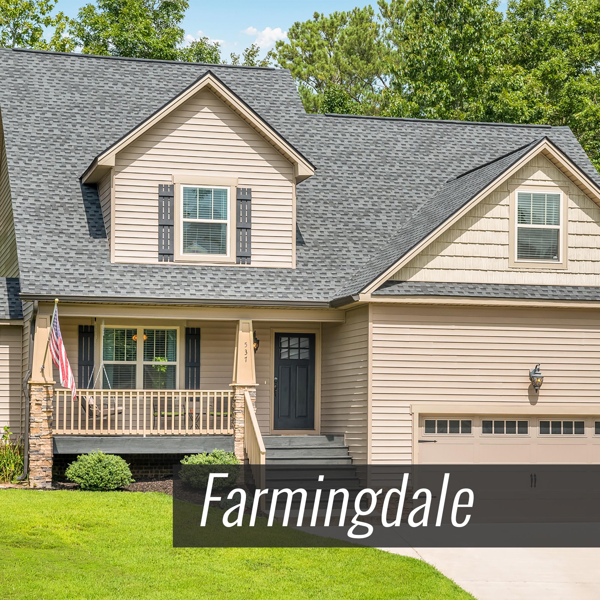 Homes for Sale in Farmingdale Subdivision