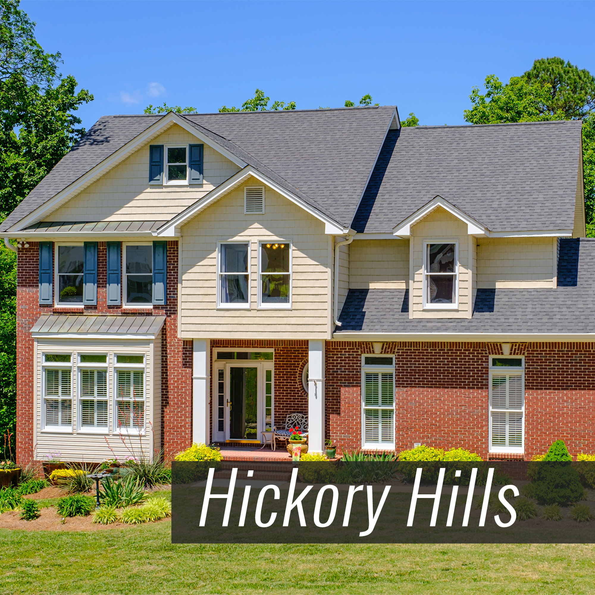 Homes for Sale in Hickory Hills Subdivision