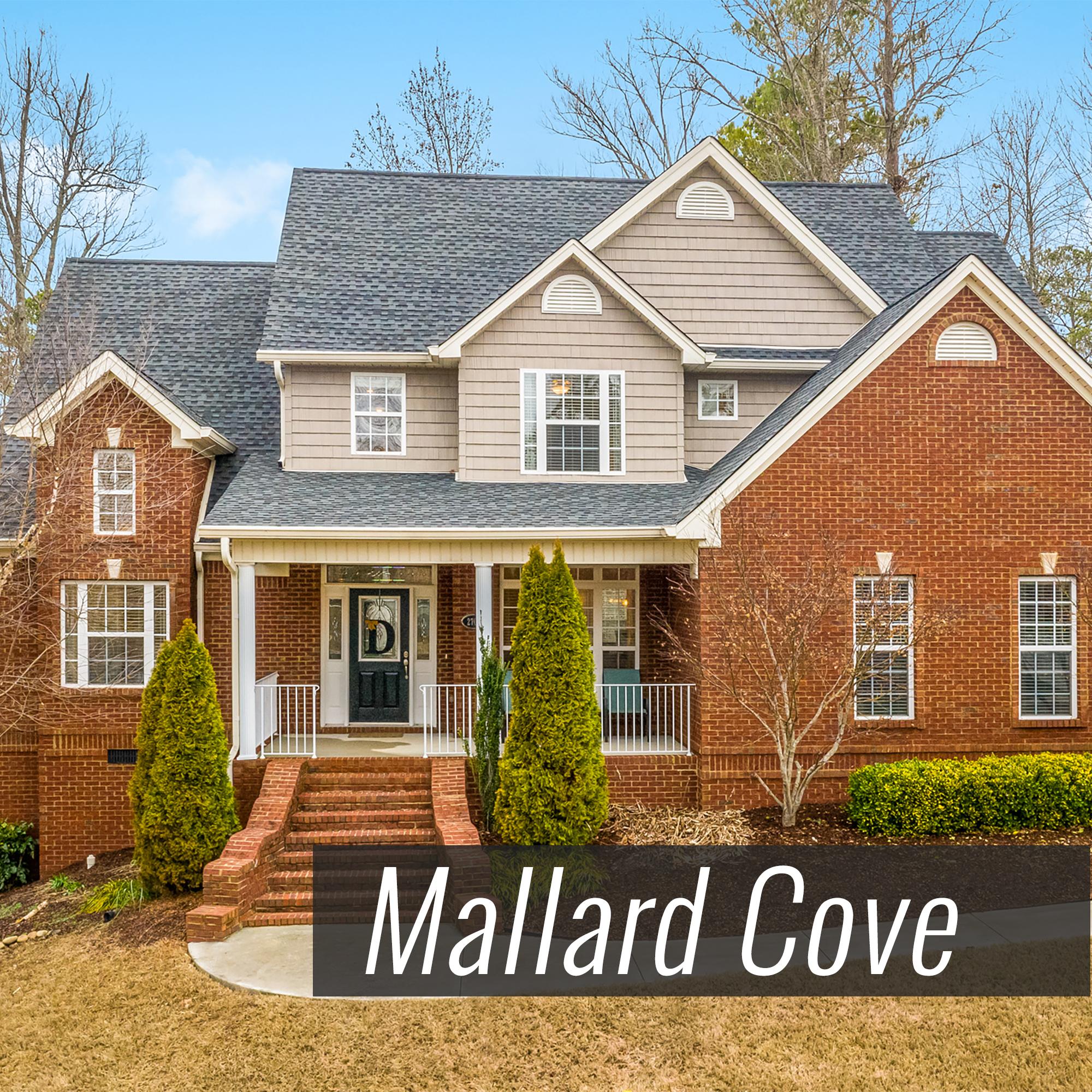 Homes for Sale in Mallard Cove Subdivision
