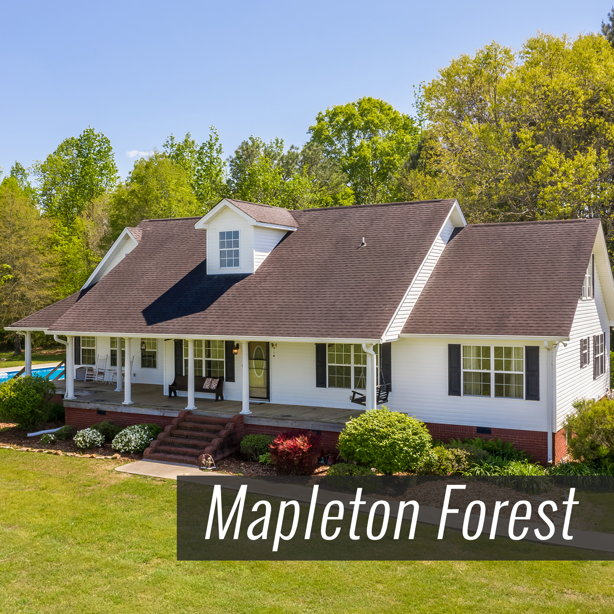 Homes for Sale in Mapleton Forest Subdivision