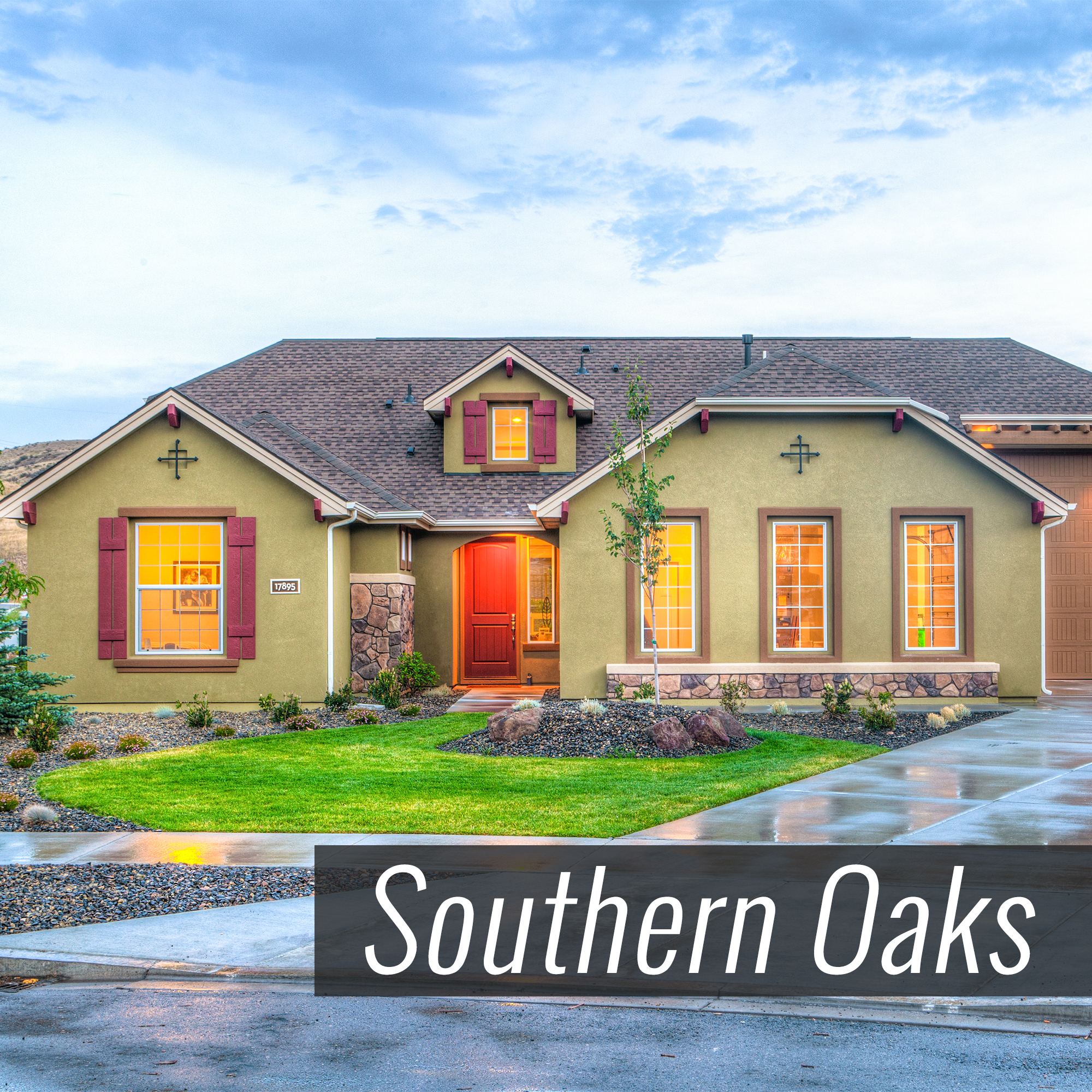 Homes for Sale in Southern Oaks Subdivision