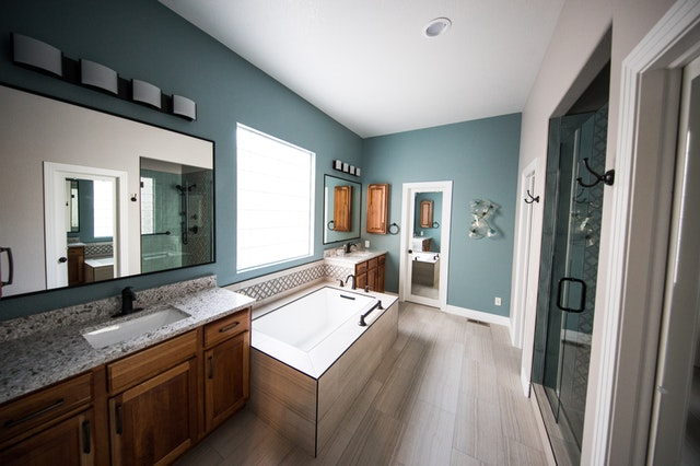 A modern bathroom is an improvement that can increase the value of your house.