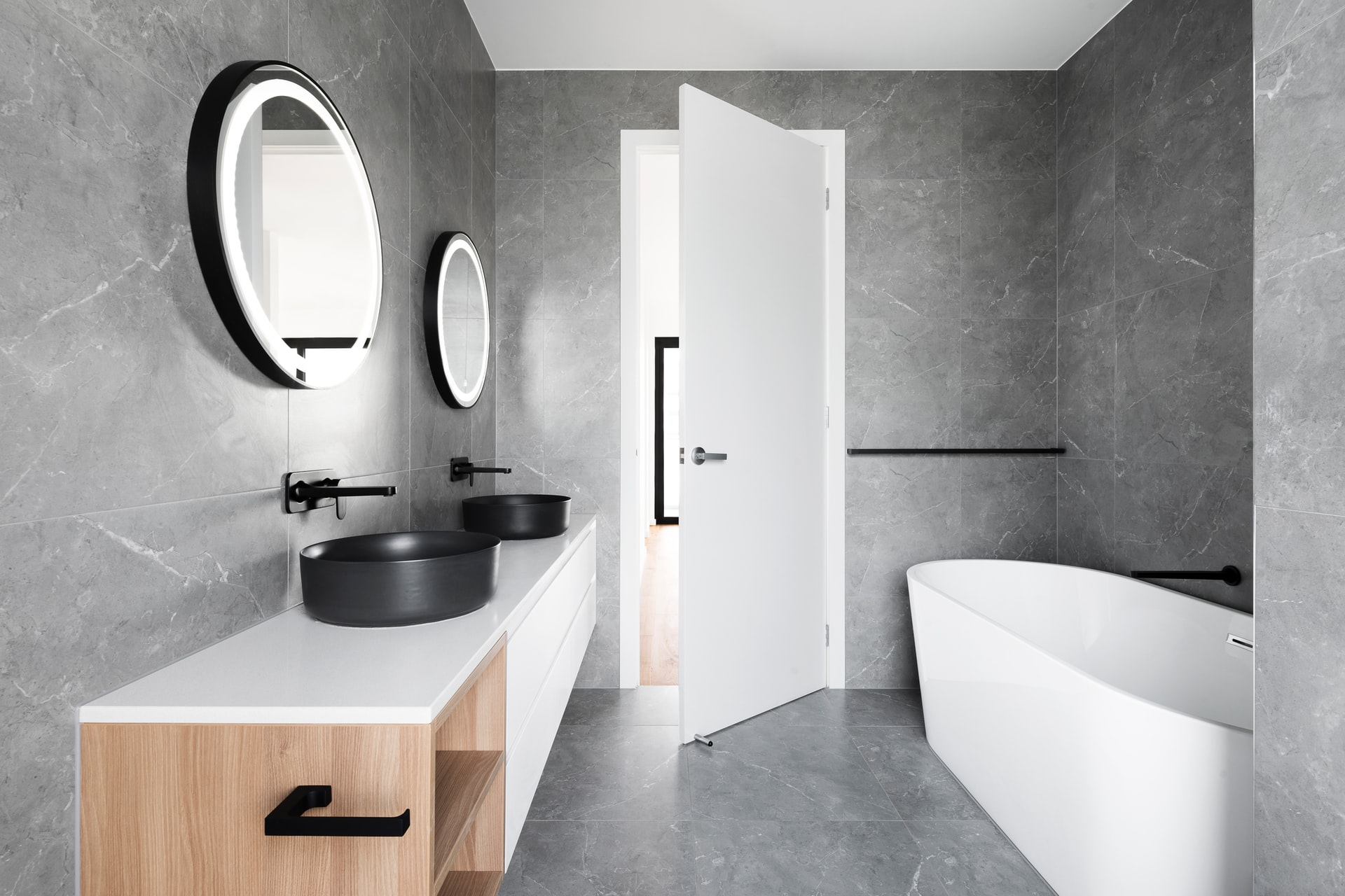 If you find yourself being comfortable inside the bathroom, there's a chance you've stumbled upon the right house.