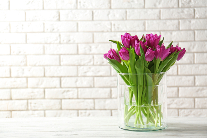 Flowers in a Denver Luxury Homes