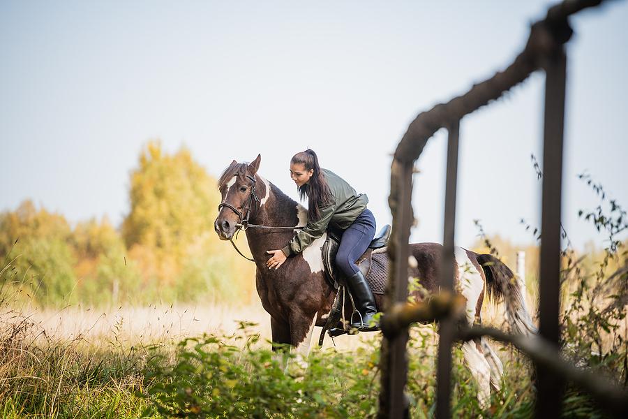 Acton property owners go horseback riding at Rainbow Ridge Ranch