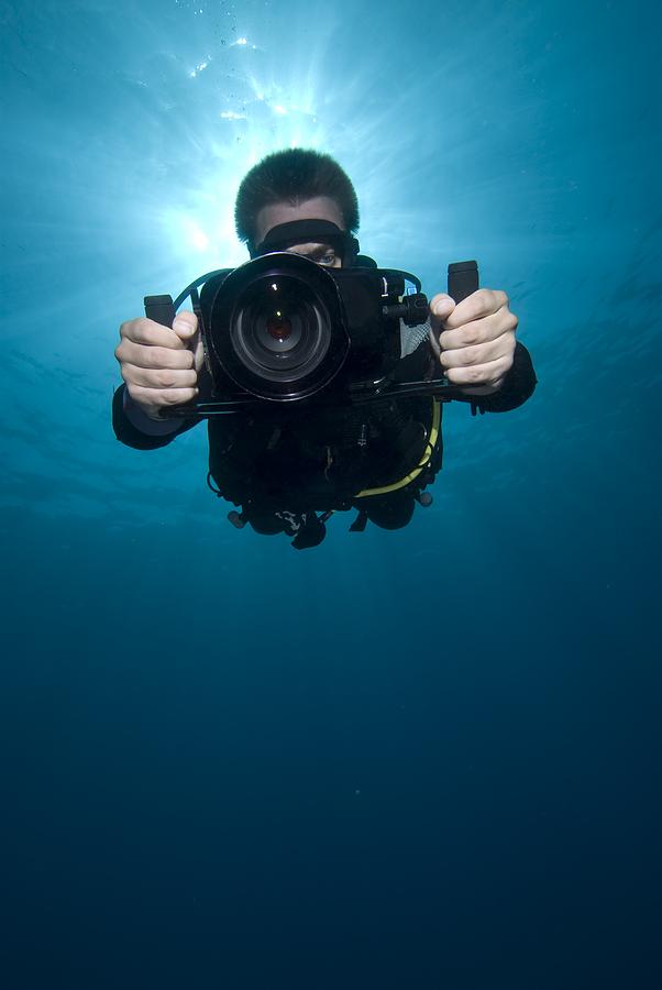 Film underwater on Acton property.