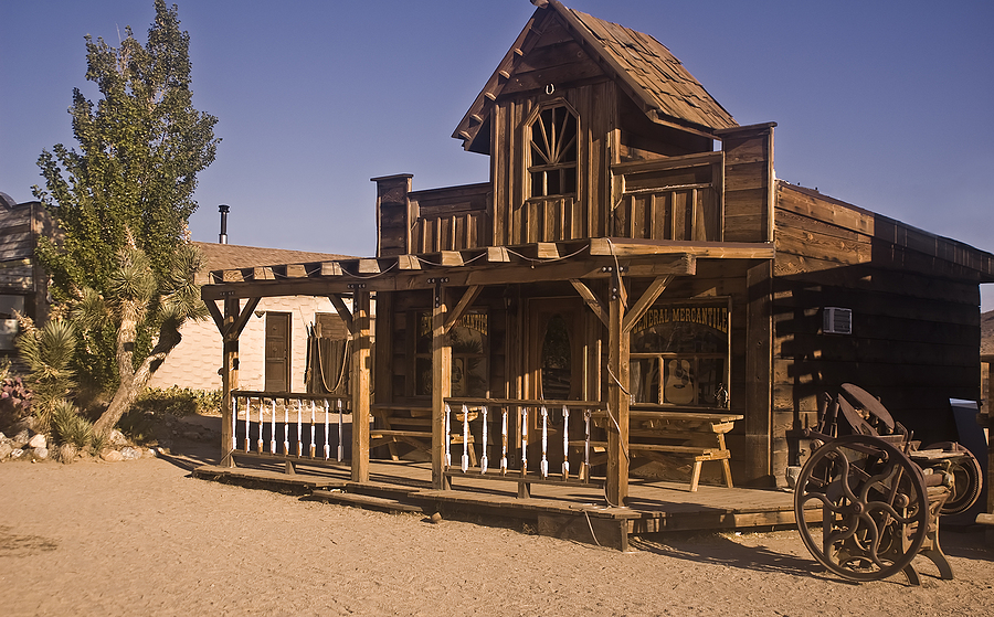 People living in Acton make westerns at Circle G Movie Ranch.