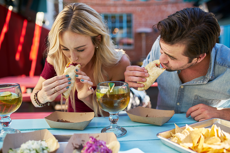 People living in West Lancaster eat Mexican food at 1800 Blvd.