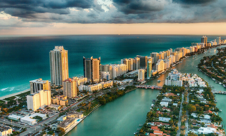 What are the current real estate market trends in South Florida?