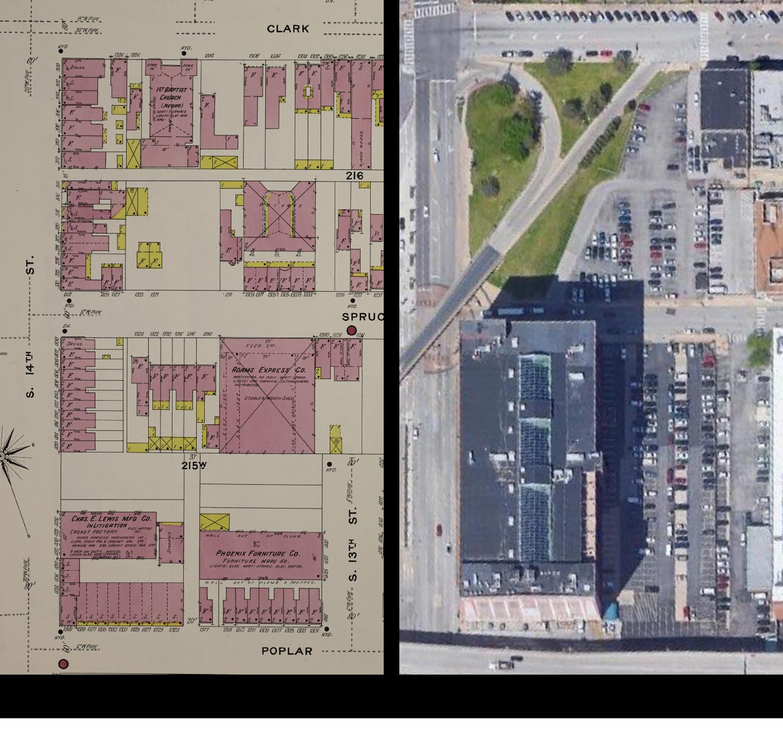 Historic Highlight: J.C. Penney Warehouse