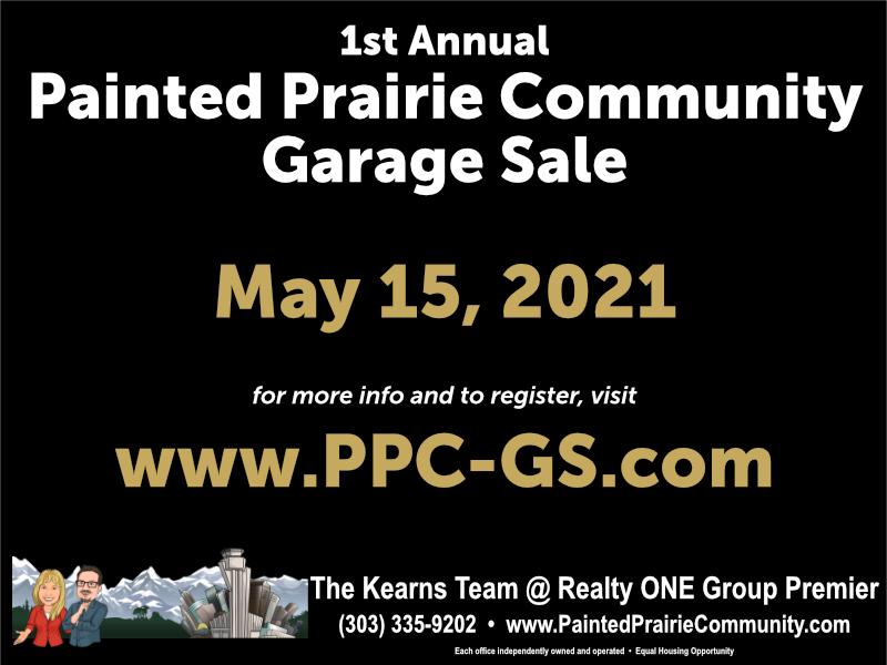 2021 Painted Prairie Community Garage Sale