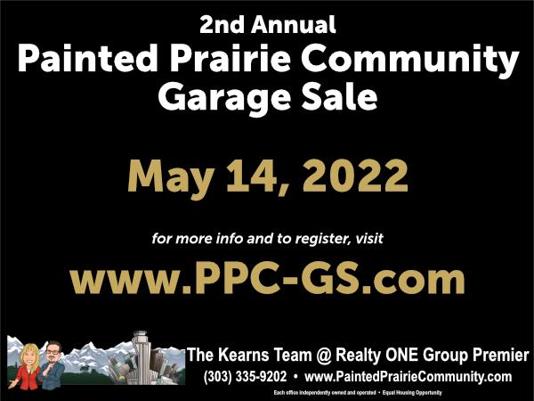 2022 Painted Prairie Community Garage Sale