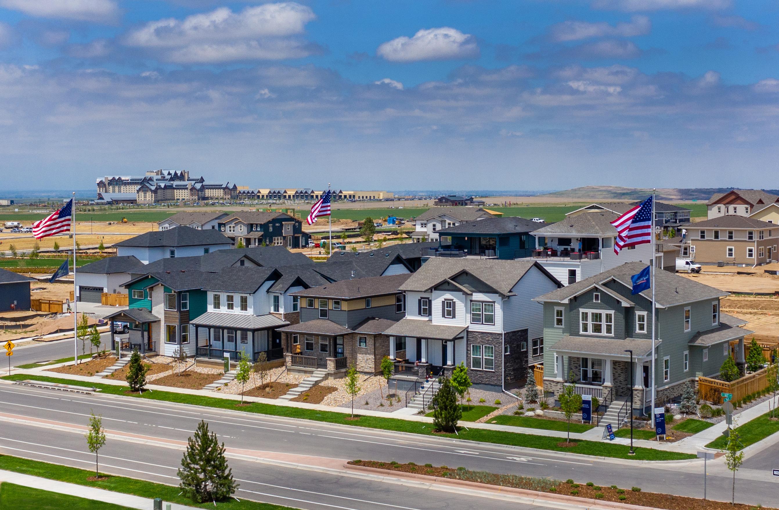 Painted Prairie Model Homes