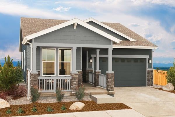 KB Home at Painted Prairie