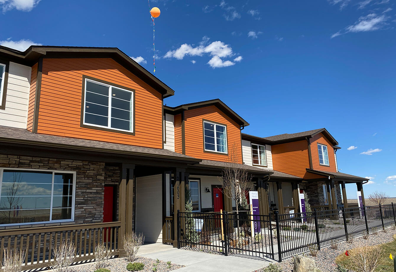 Meritage Homes at Painted Prairie