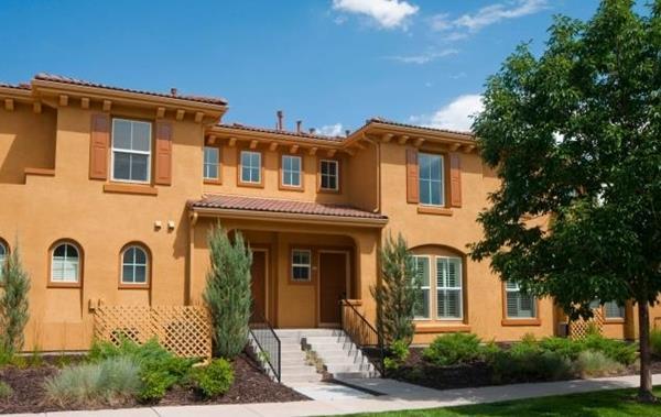 Trimark Mansion Homes in Central Park, Denver