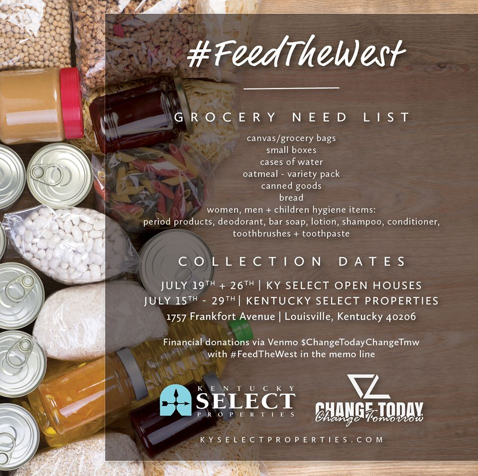 Feed The West Food Collection