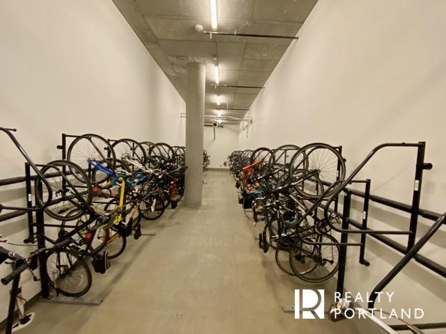 Secure bike storage at The Cosmopolitan