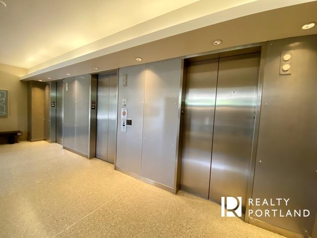 Elevator Lobby at Encore Condos