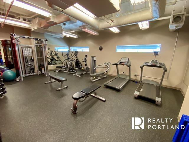 Fitness Center at Encore Condos of Portland