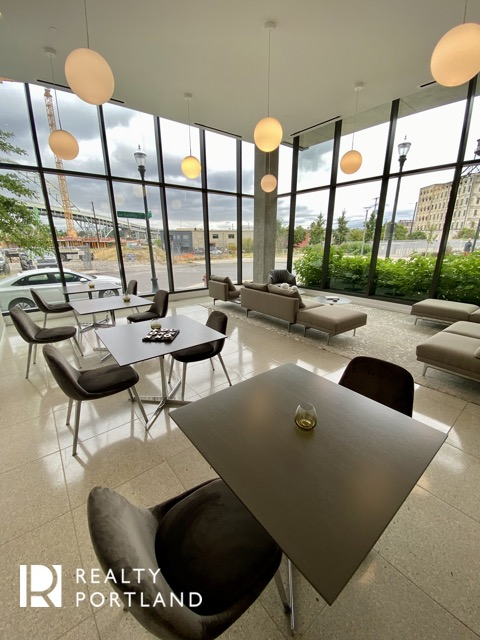 Vista Condos Resident Lounge area