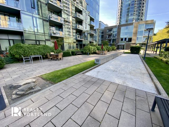 Outdoor space at Atwater Place
