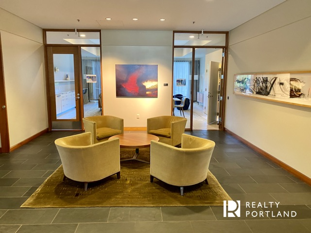 Lobby at Atwater Place