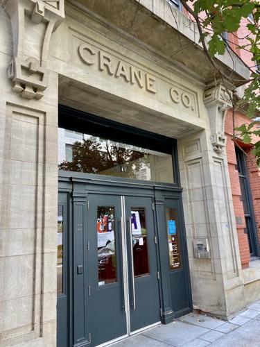 Entrance to Crane Lofts