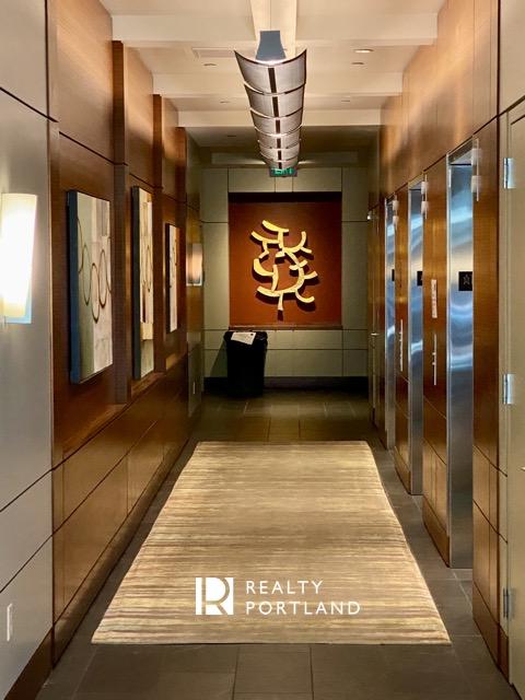 Elevator Lobby at the John Ross